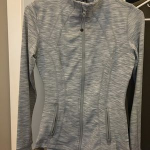 Grey 90 Degree Zip-Up Jacket